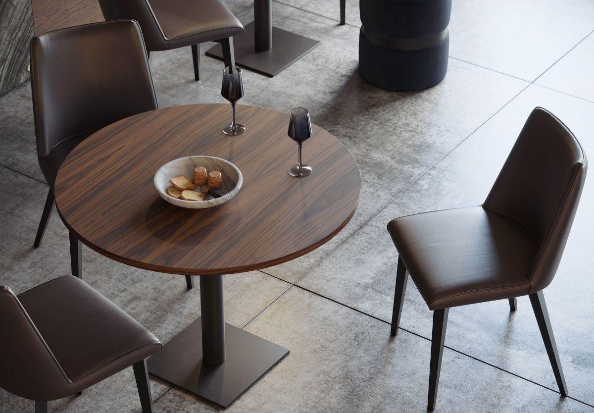 mesa de bar circular Baco