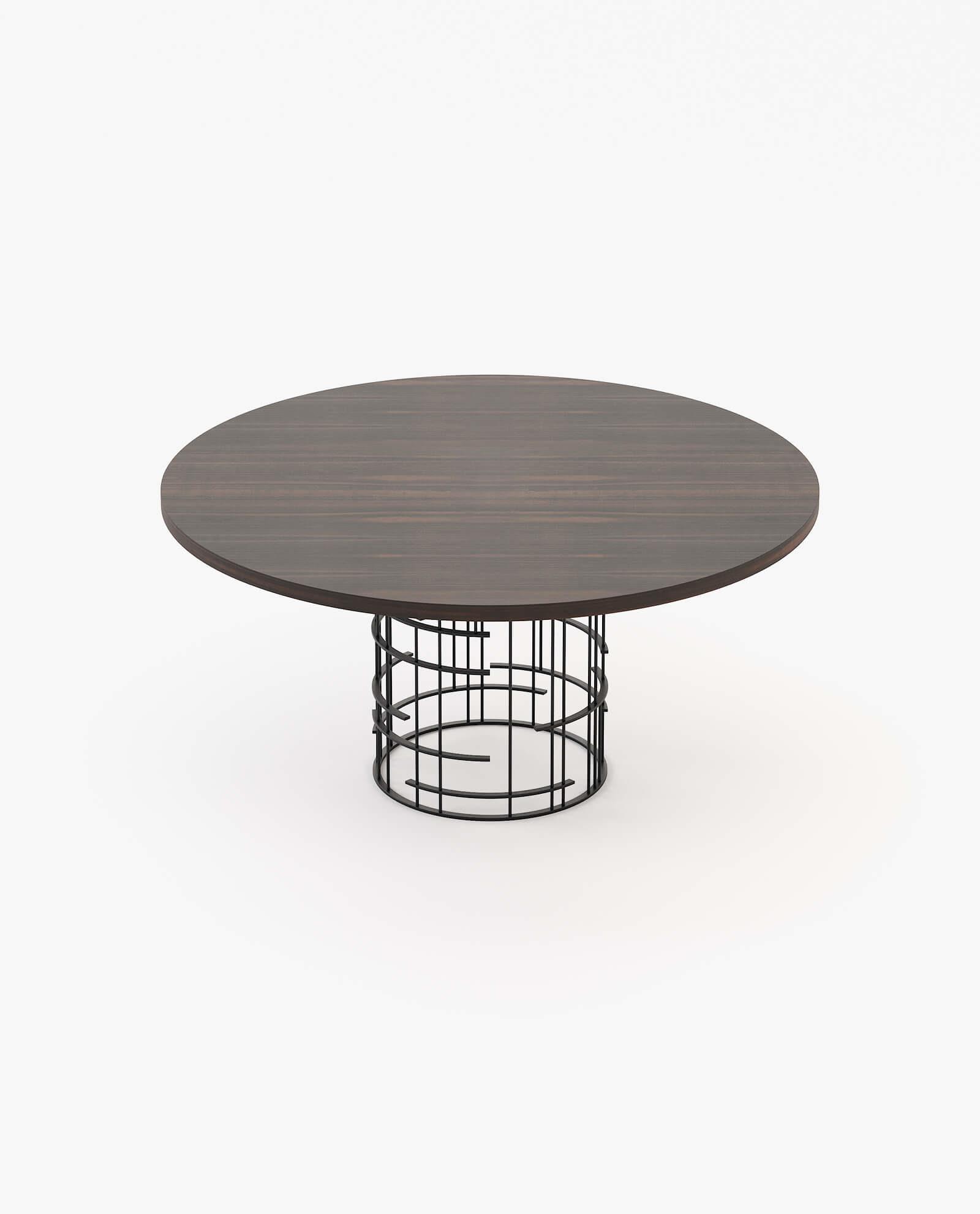 mesa de jantar circular mercy