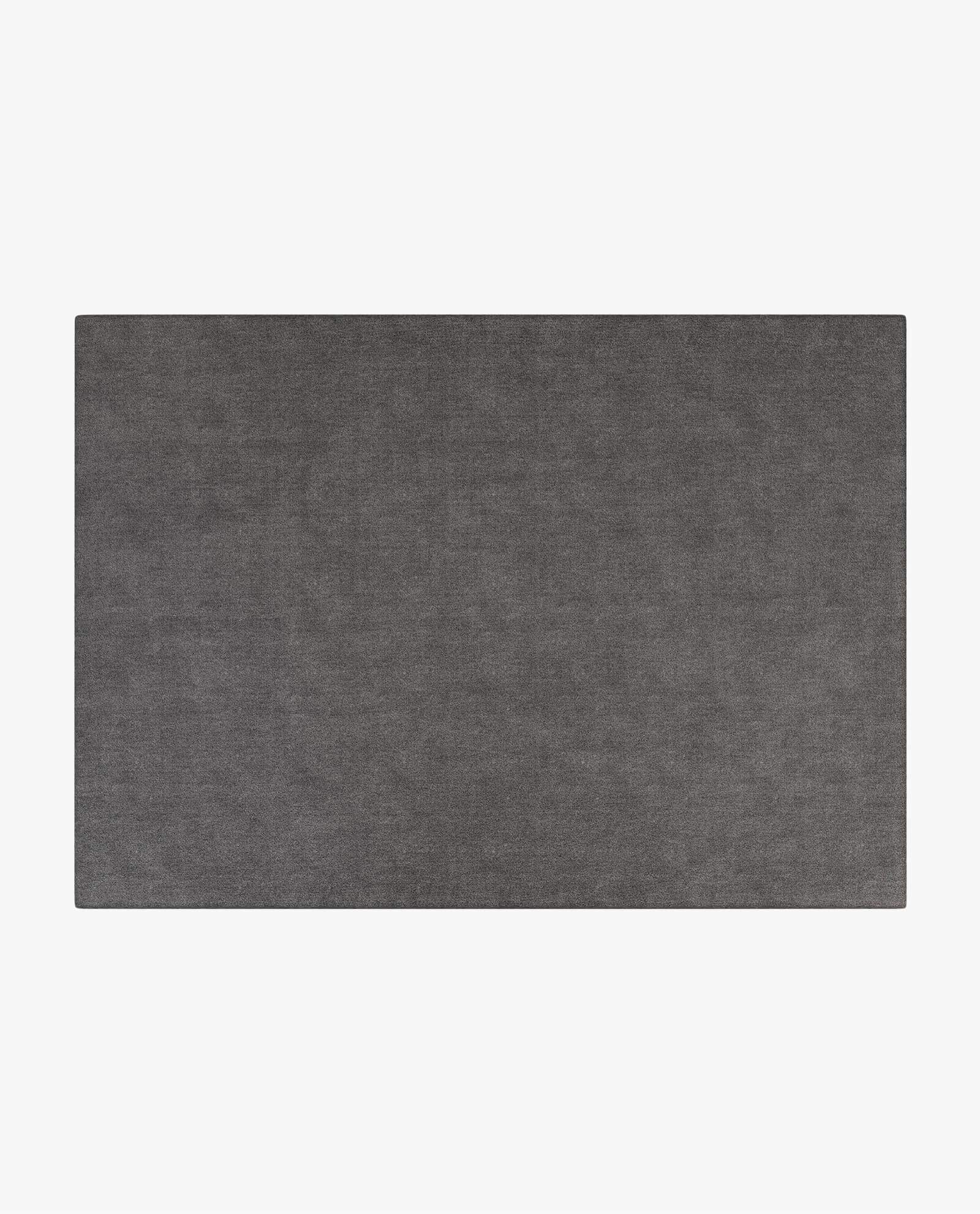 carpete em tecido cinza escuro para sala de estar moderna