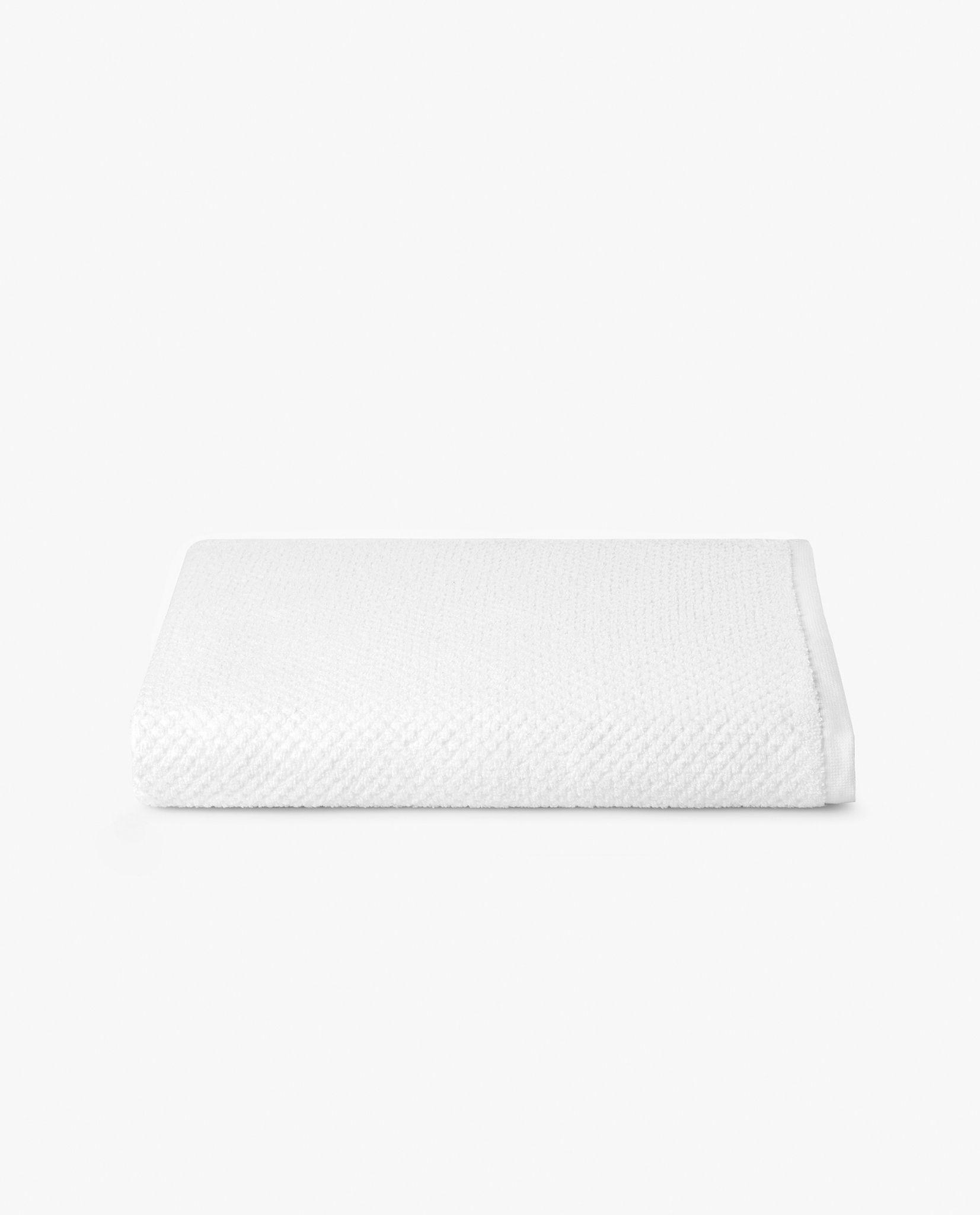 toalha de banho 100% algodão em branco