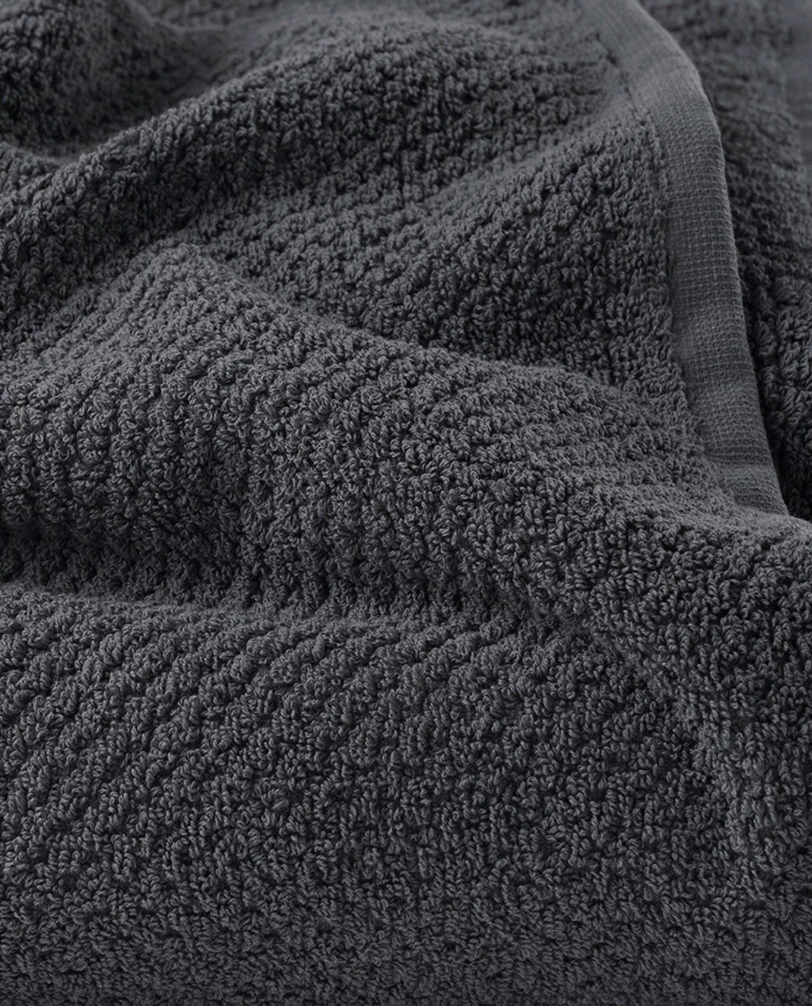 toalha de banho 100% algodão em cinza