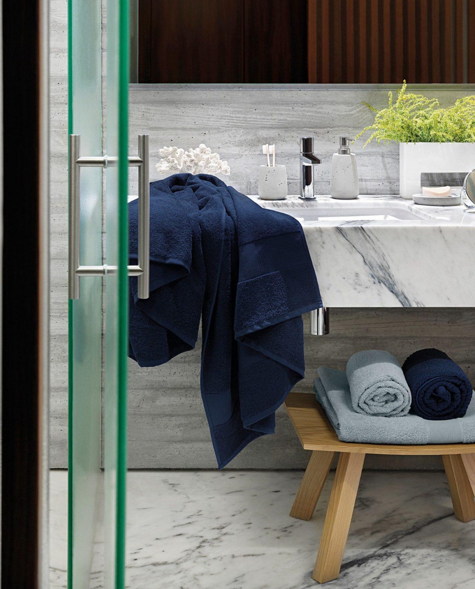 Toalhas 100%algodão para casa de banho moderna