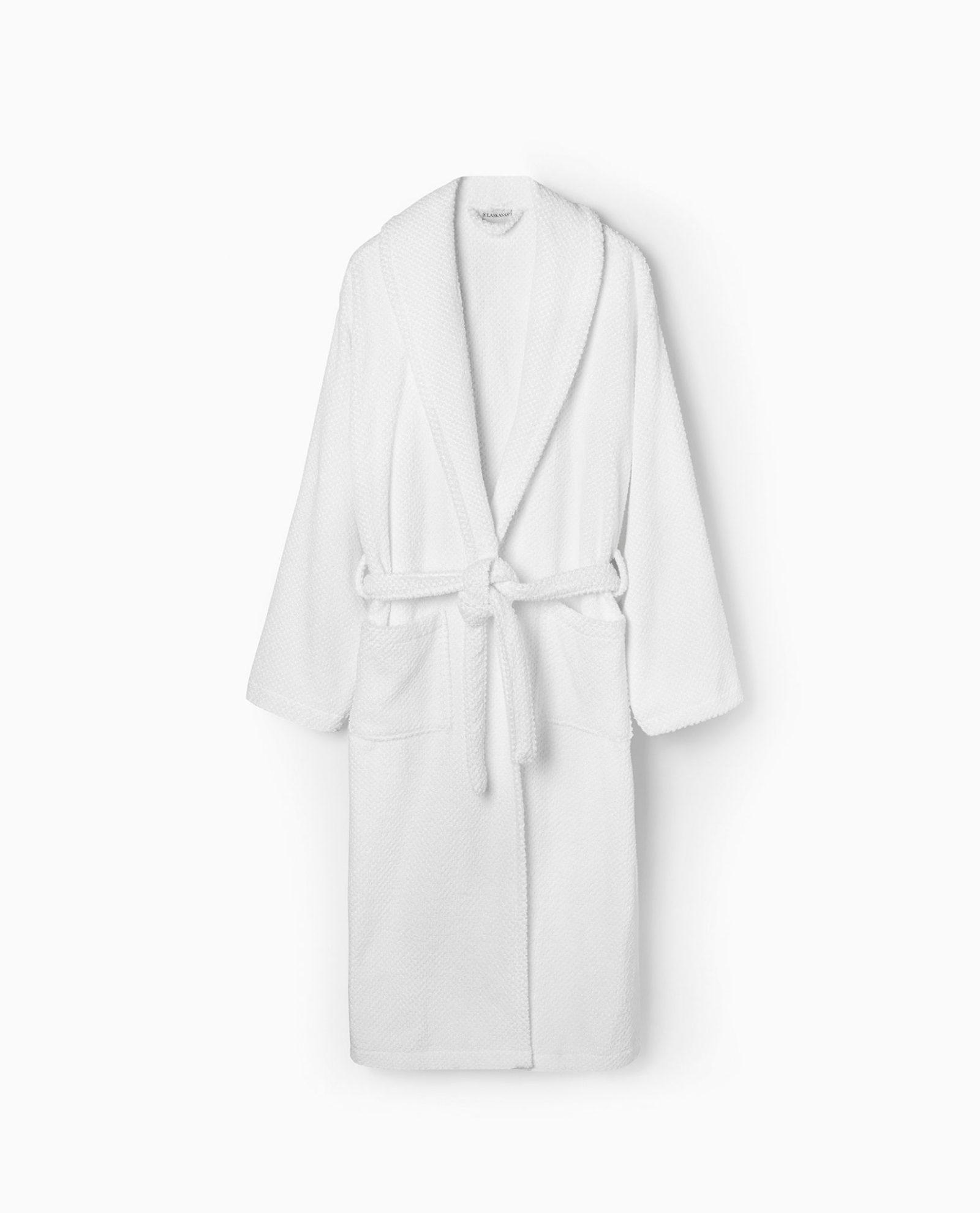 roupão 100% algodão em branco