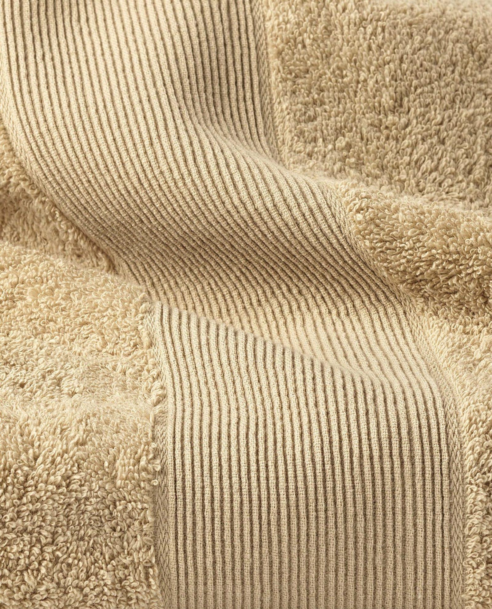 toalha de rosto 100%algodão em camel