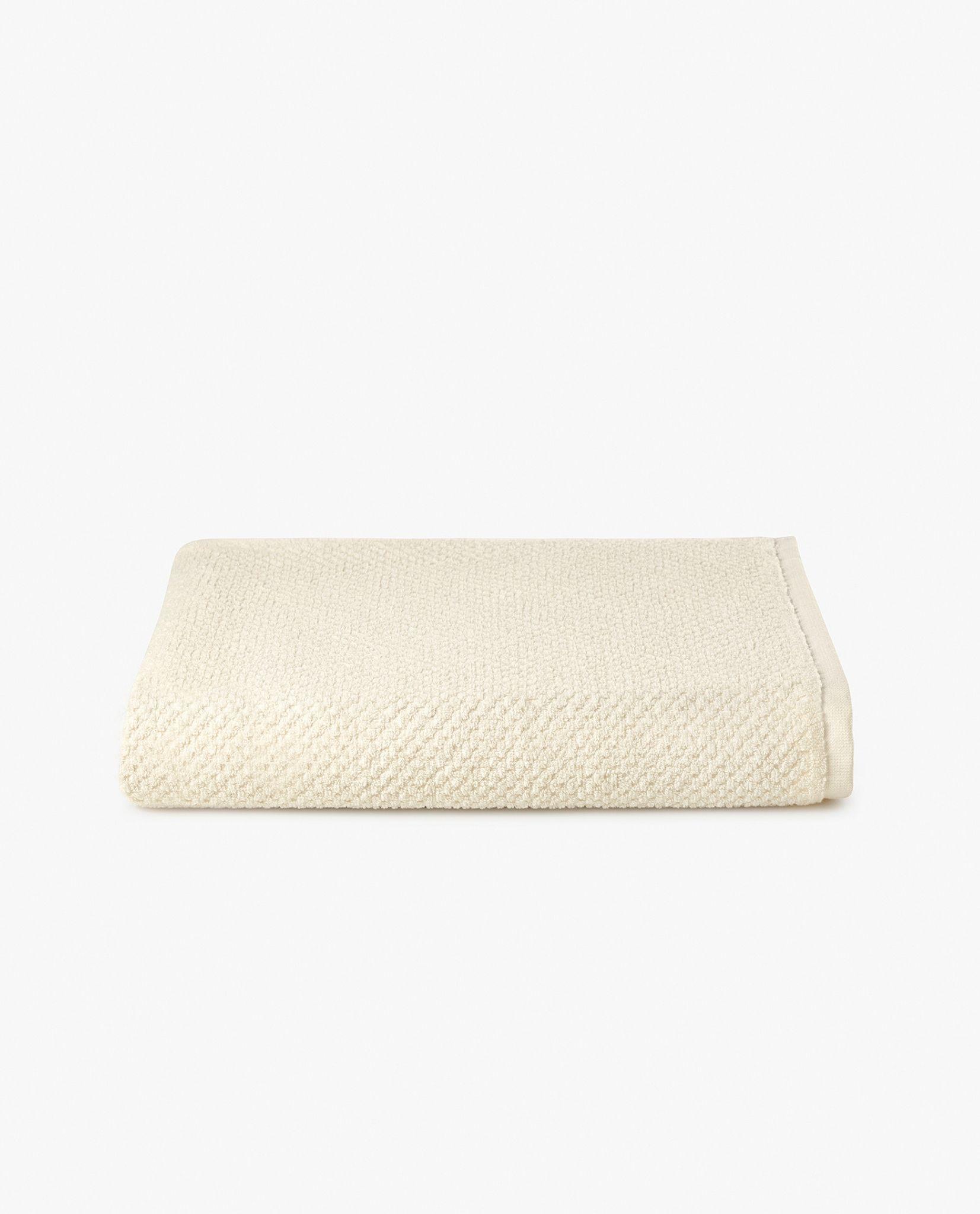toalha de banho 100% algodão em bege