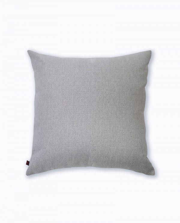 almofada decorativa em cinza
