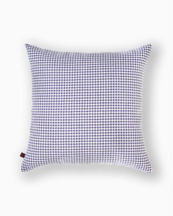almofadas decorativas em padrão azul