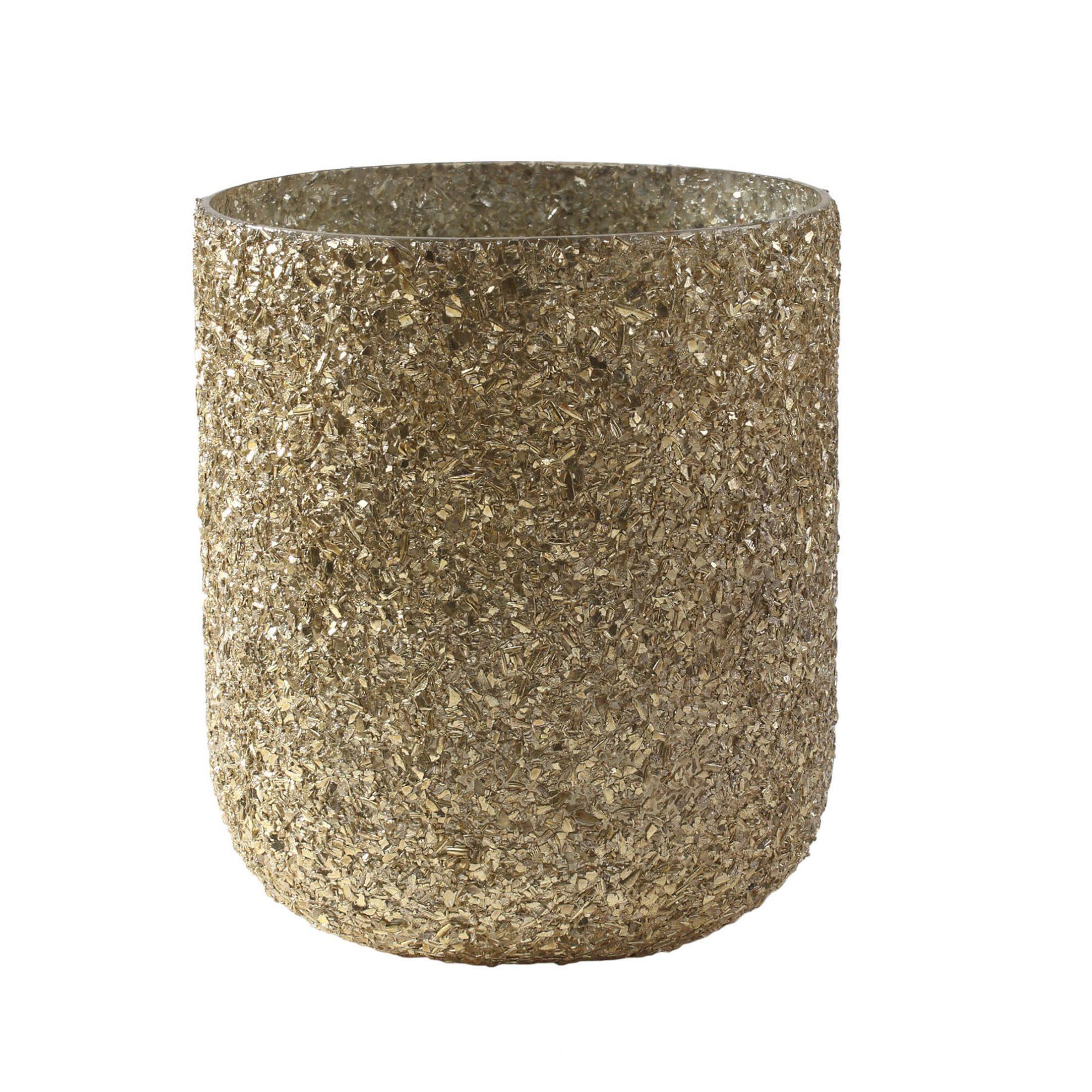 copo de vela dourado