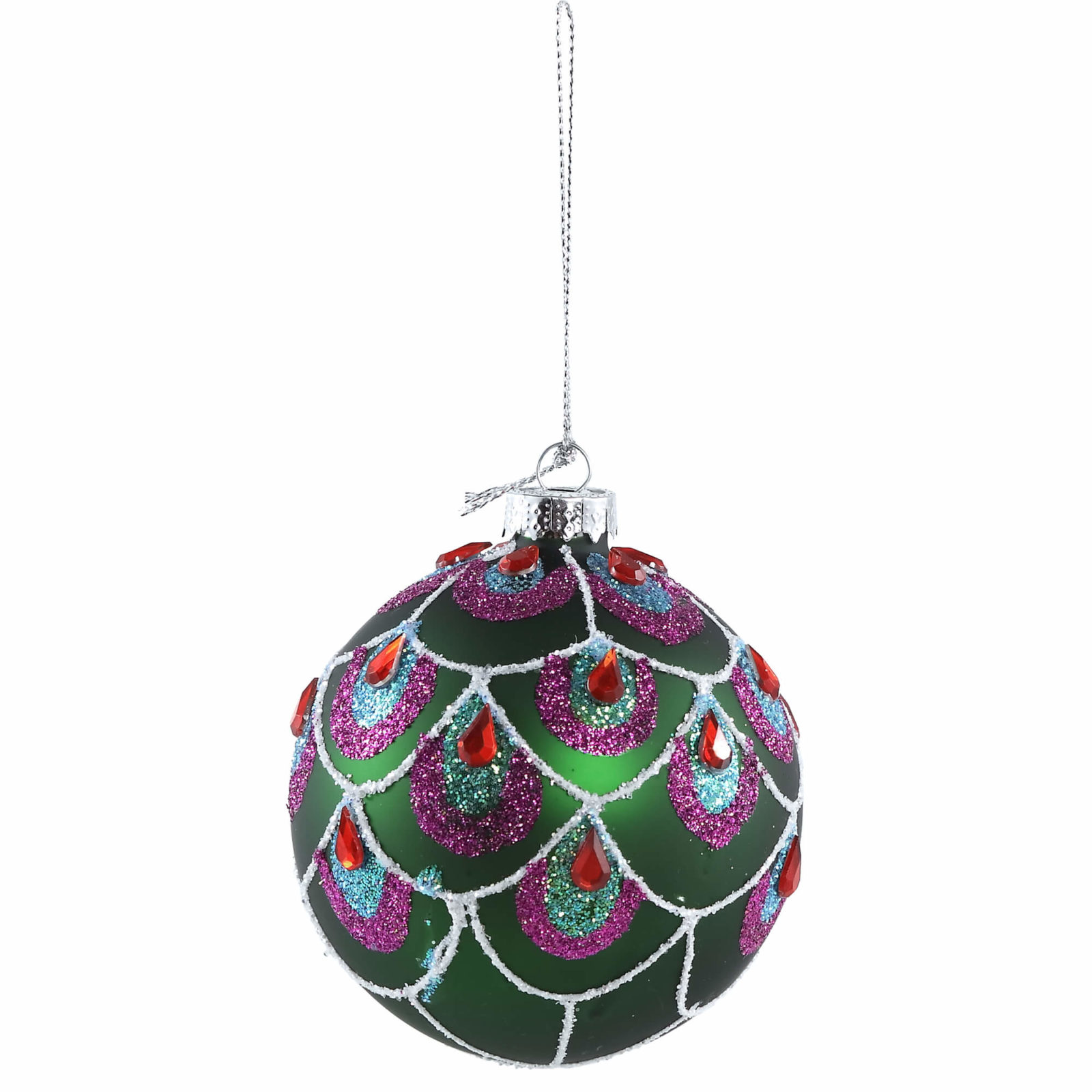 bola de natal verde
