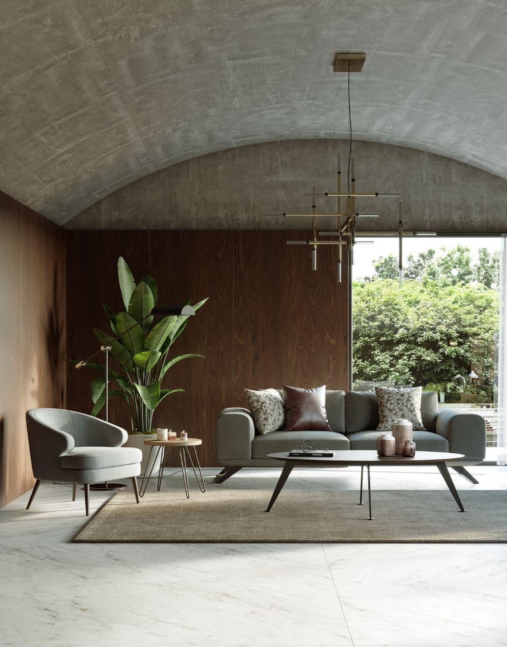 sofá laskasas moderno para casa com decoração única