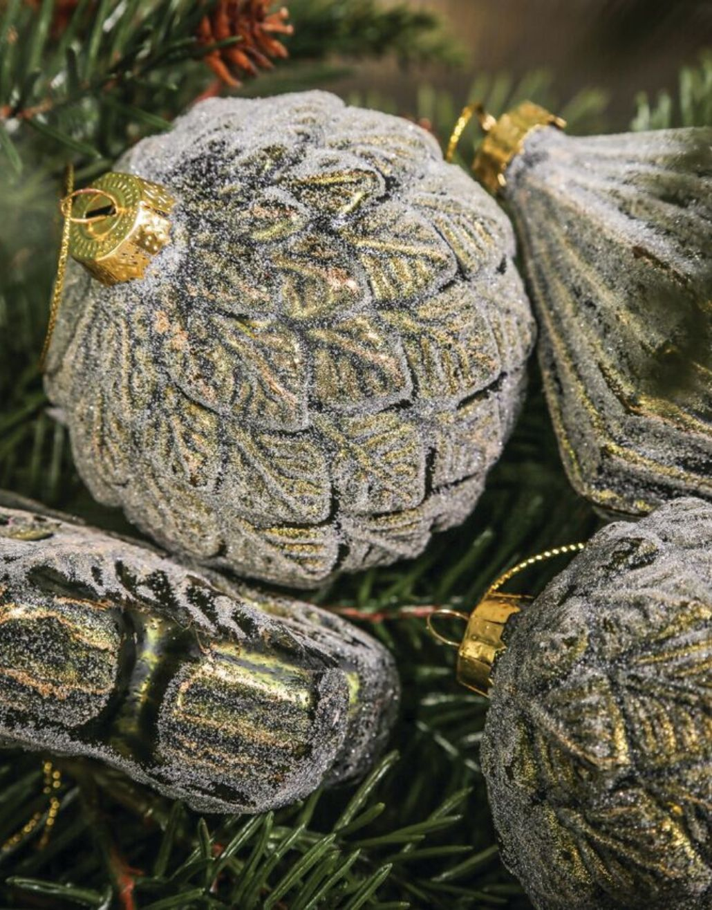 enfeite diamante para árvore de natal