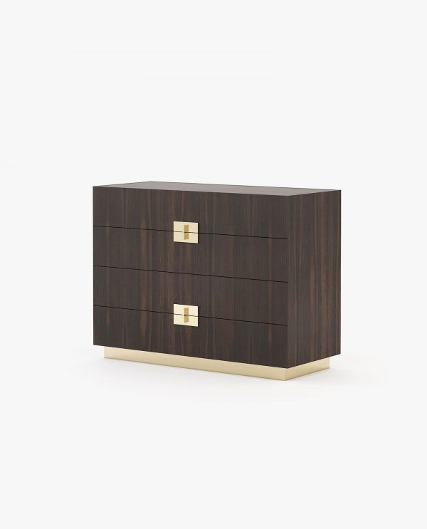 cómoda em madeira para quarto