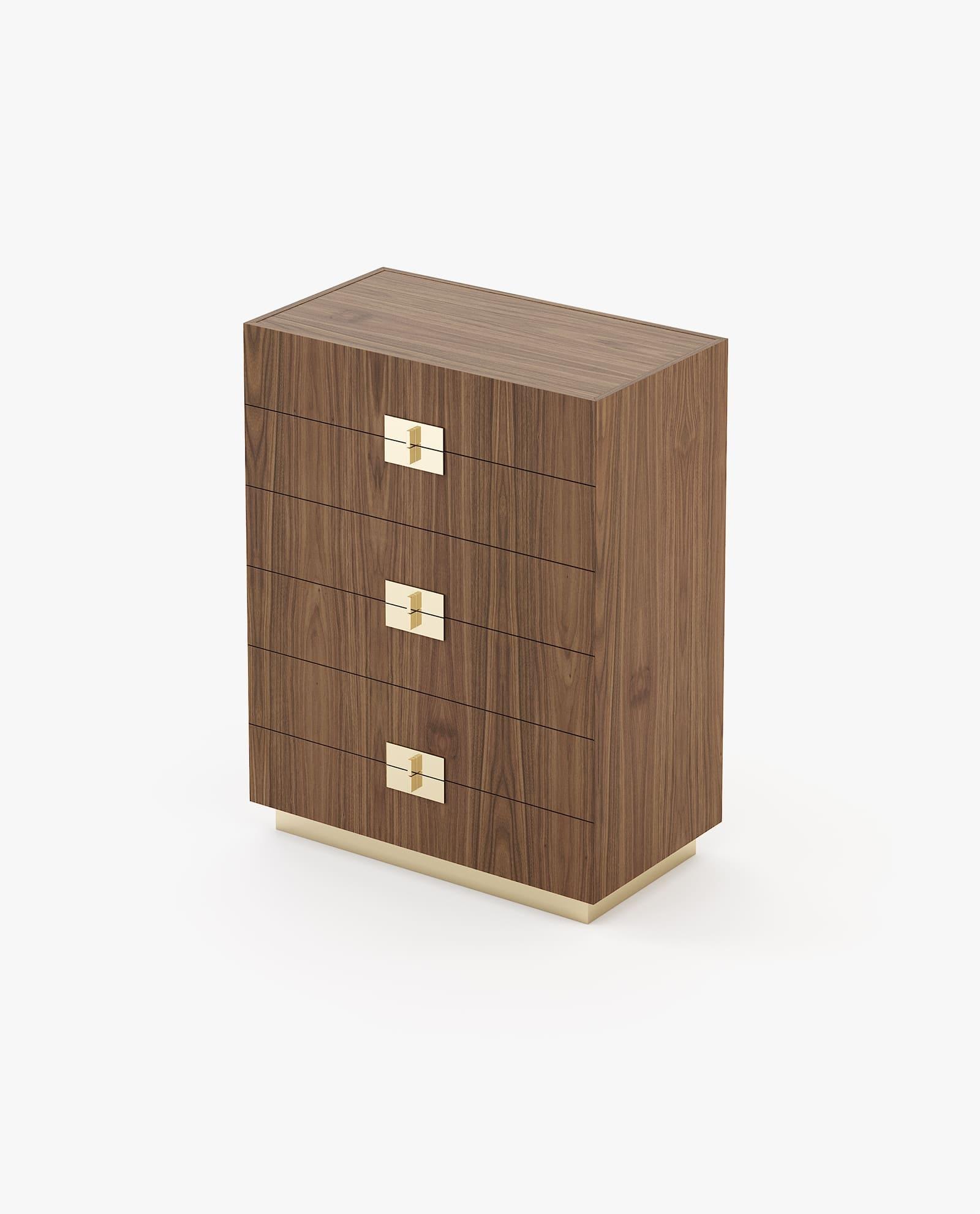 camiseiro em madeira de nogueira