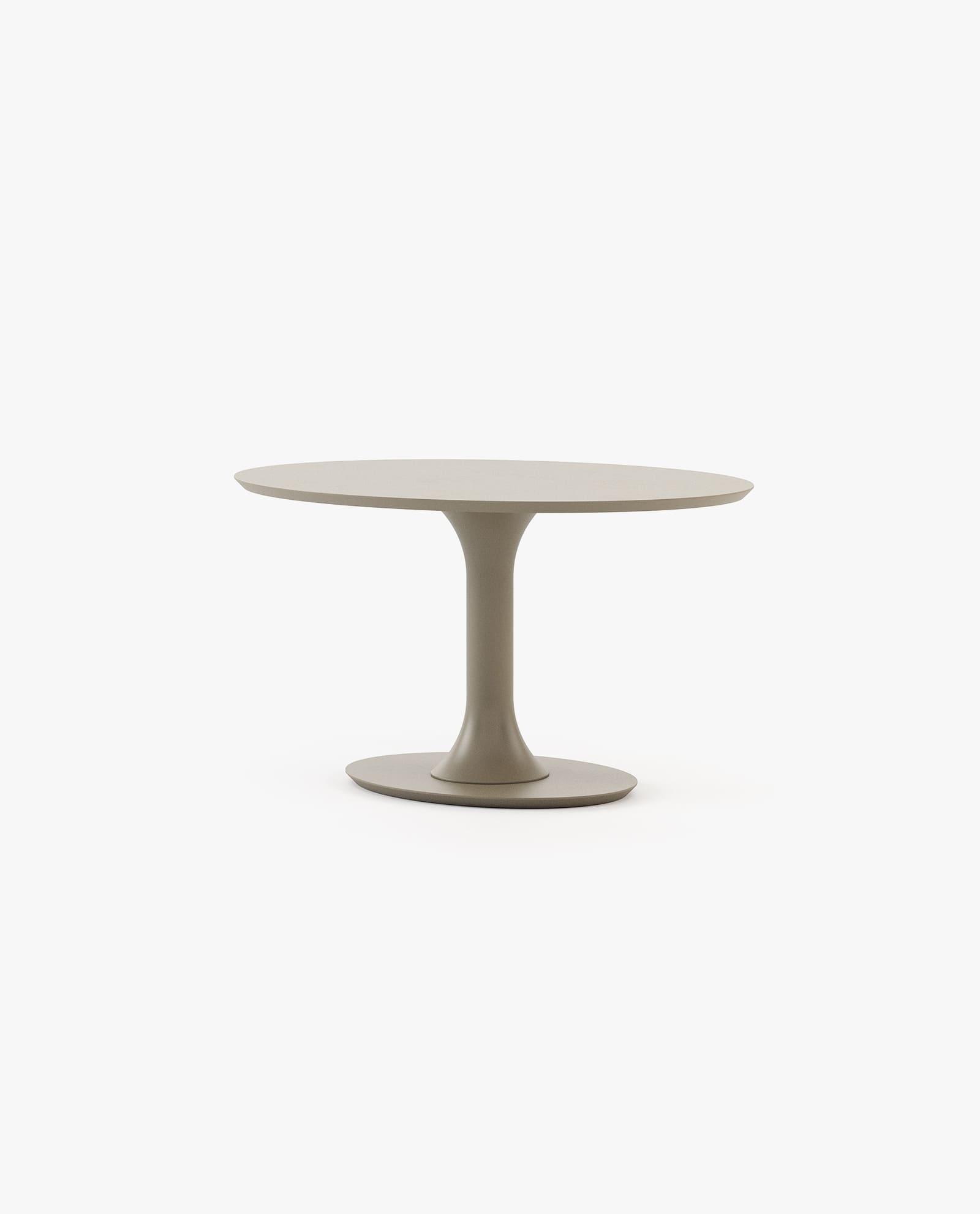 mesa de jantar lacada a cinza