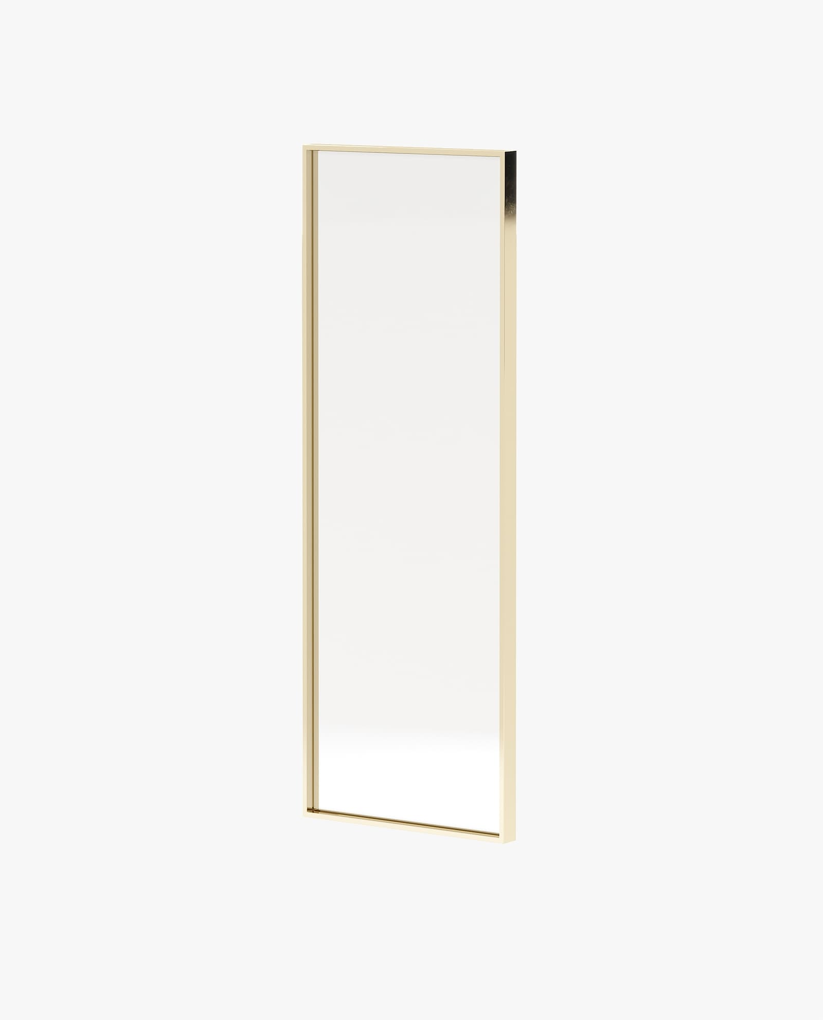 espelho com inox dourado