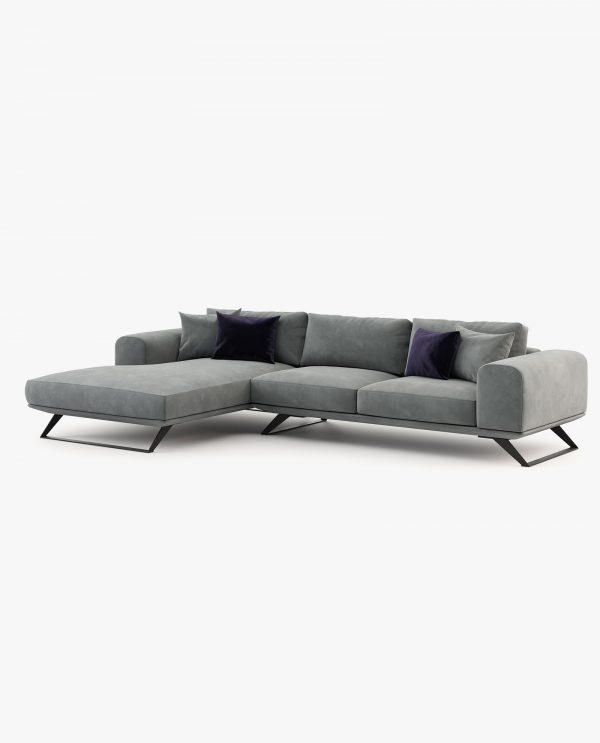 sofá chaise-longue aniston