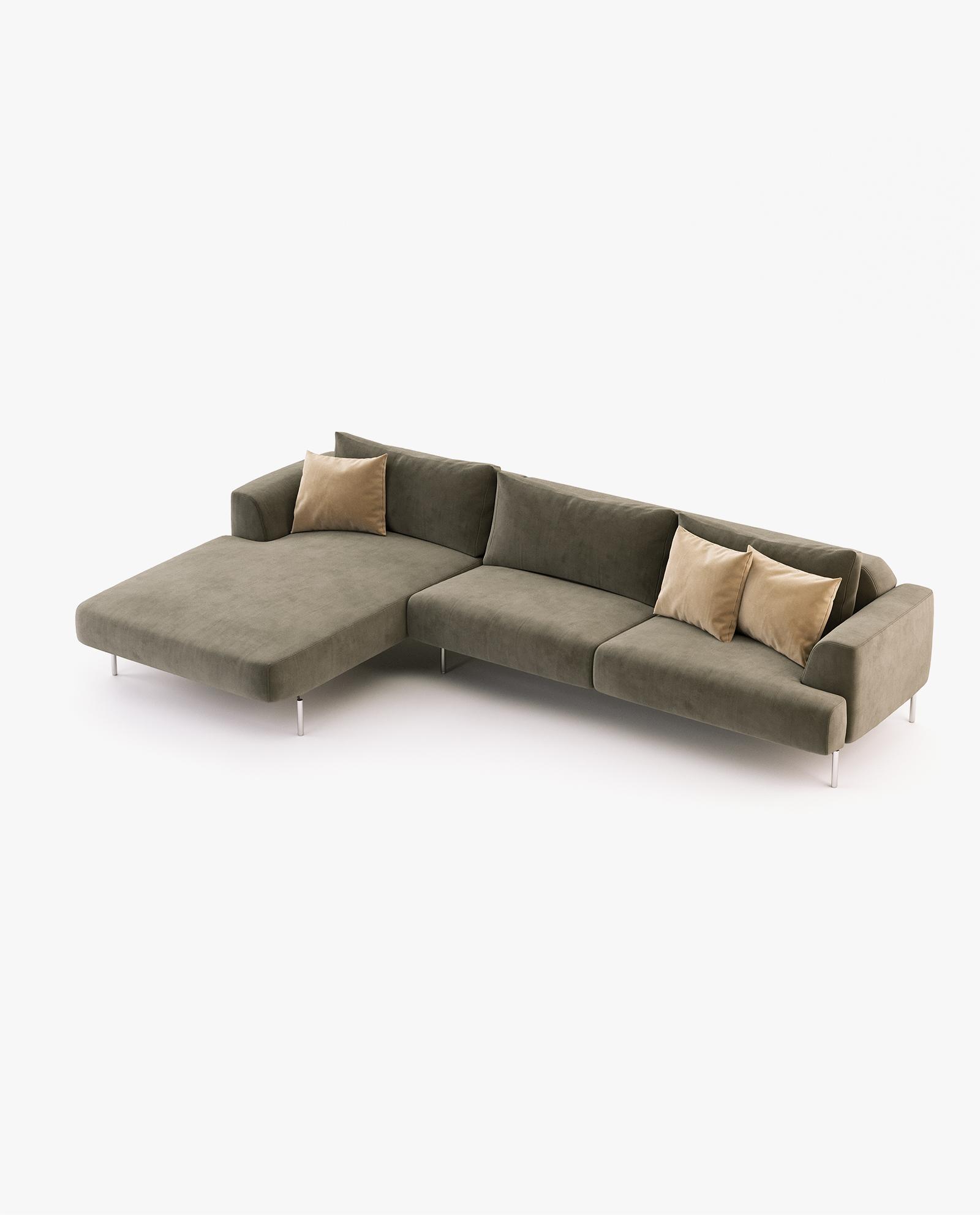sofá chaise-longue Taís