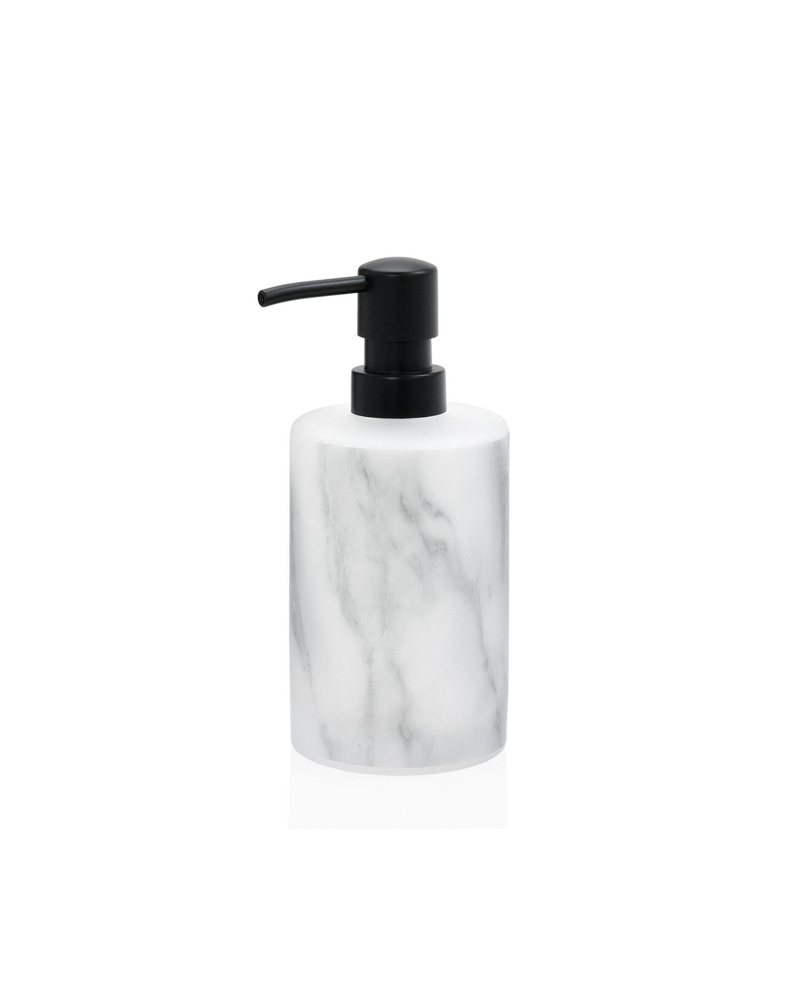 conjunto acessorios de banho efeito vidro