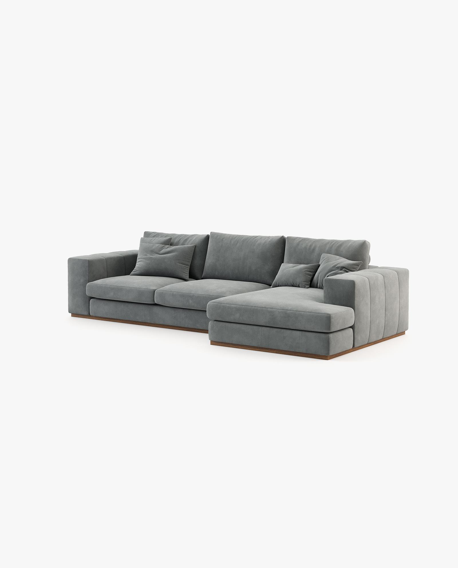 sofá chaise-longue Charlie Laksasas