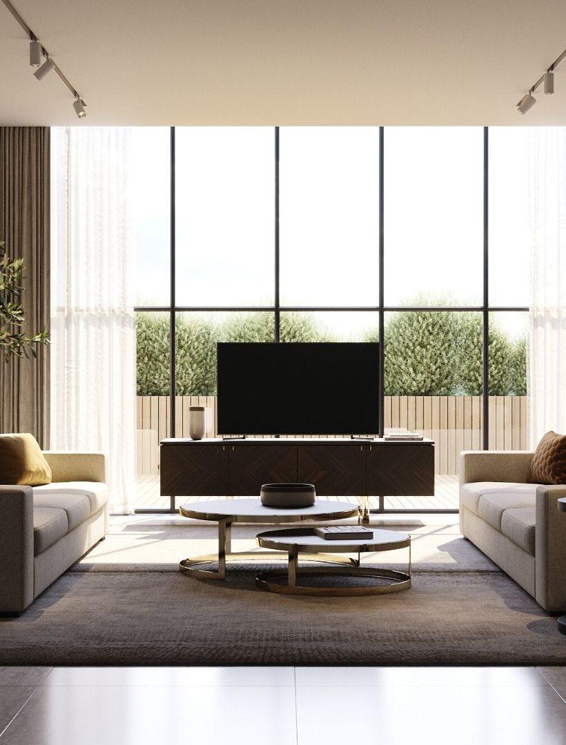 base de tv laskasas em madeira