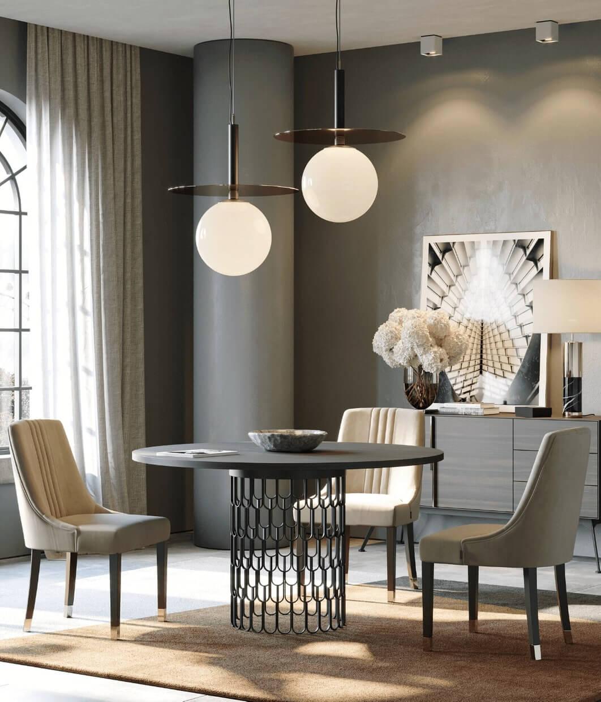 sala de jantar moderna laskasas