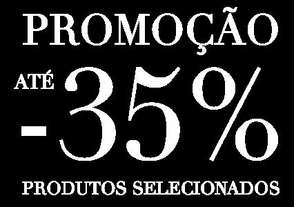 Elemento Campanha 35% desconto Laskasas Online Shop