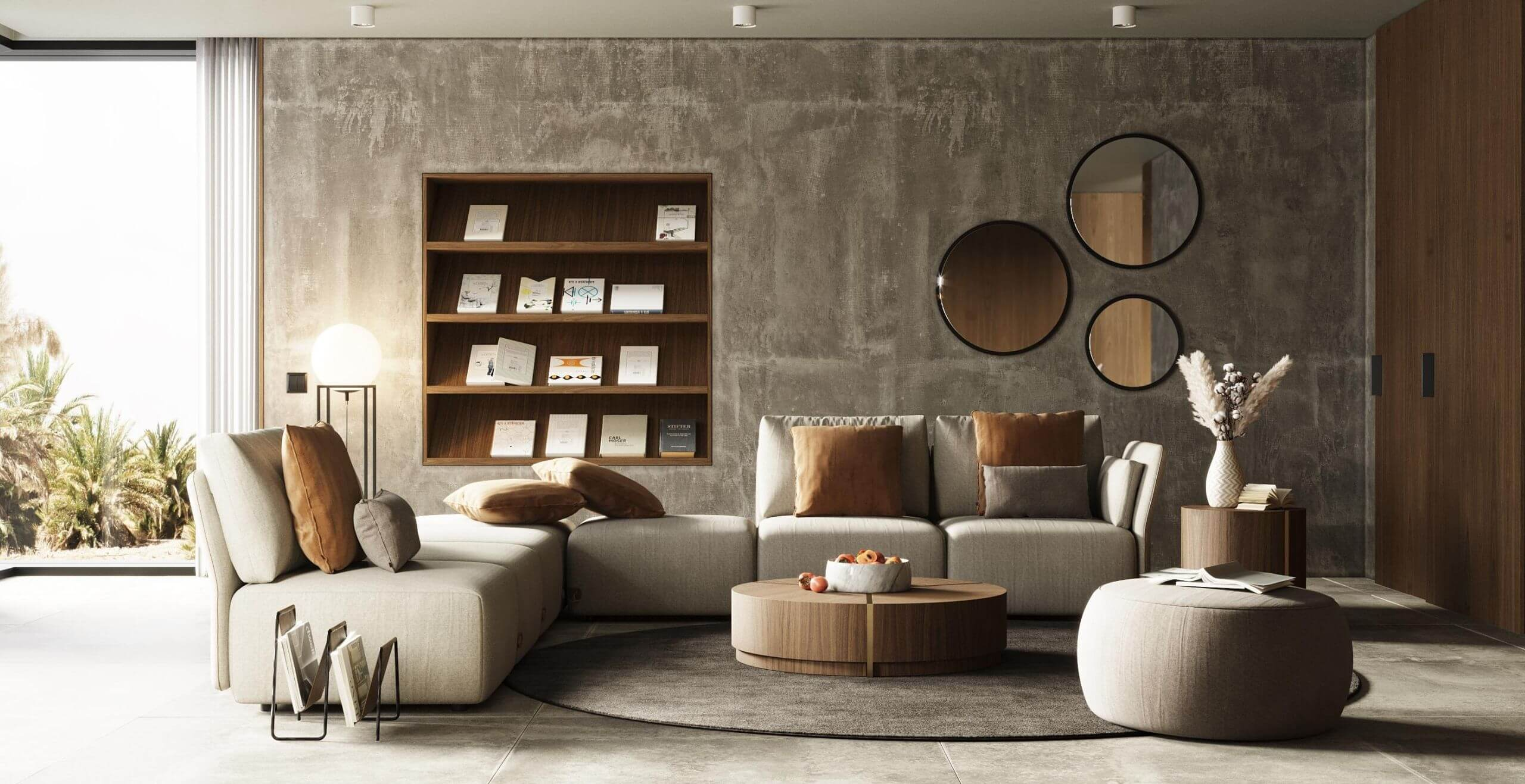 sala de estar moderna laskasas