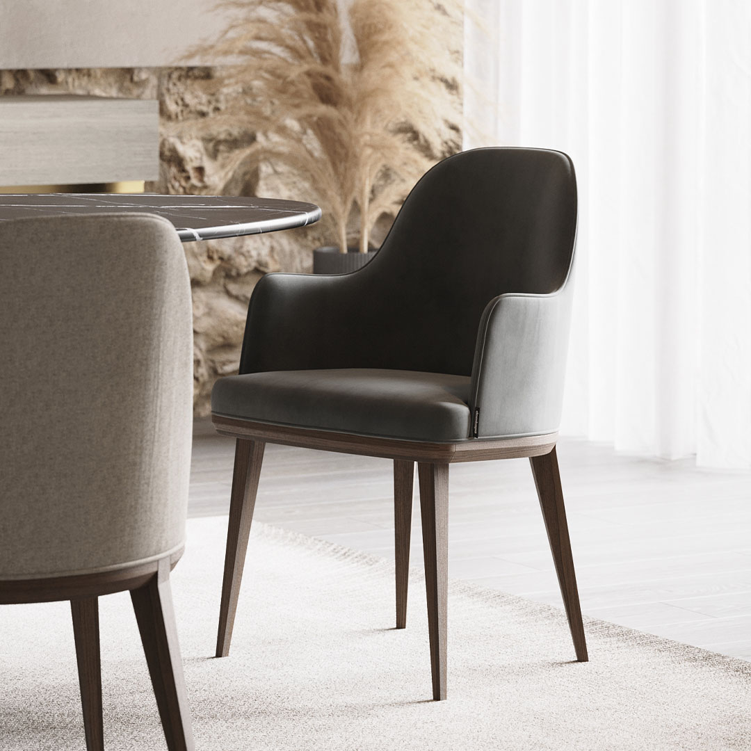 Cadeira de Braços Binoche - Laskasas
